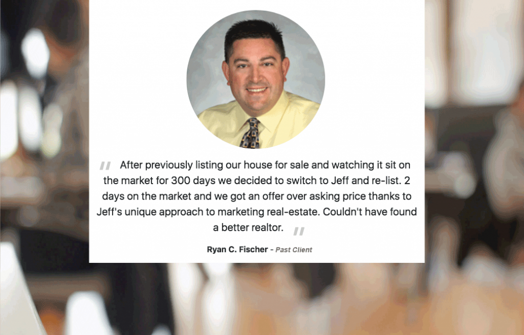 Jeffrey B Thompson Shorewest Realtor Testimonials